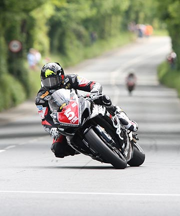 HOT LAP: Wellington's Bruce Anstey set a new lap record at the world-renowned Isle of Man TT superbike race over the weekend.
