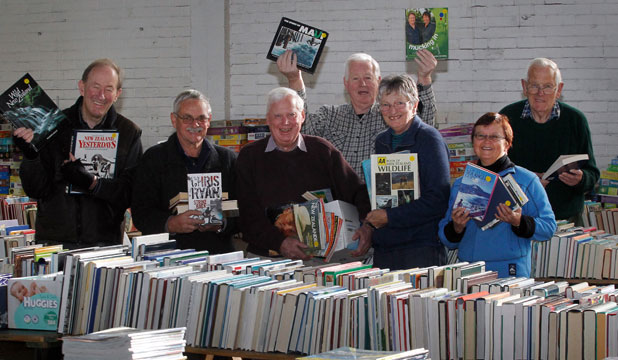 timaru south rotary club's bookarama