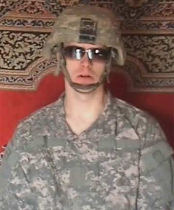 HELD CAPTIVE: Private First Class Bowe Bergdahl.