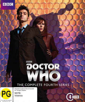 Blu-ray review: Doctor Who - The Complete Fourth Series