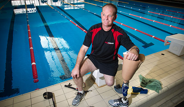 Corporal Jason Sturley is among the New Zealand contingent heading to London to take part in the Invictus Games, international sporting competition for wounded, injured and sick service personnel.