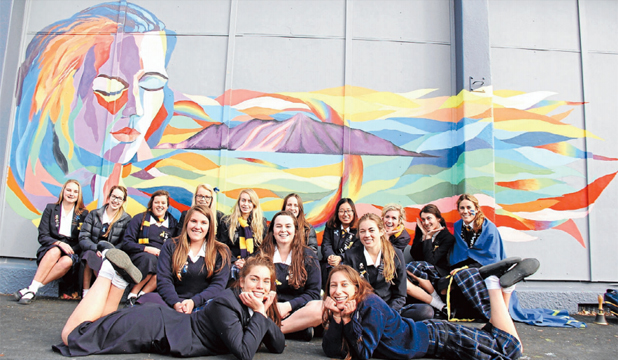 Marlborough Girls' College mural