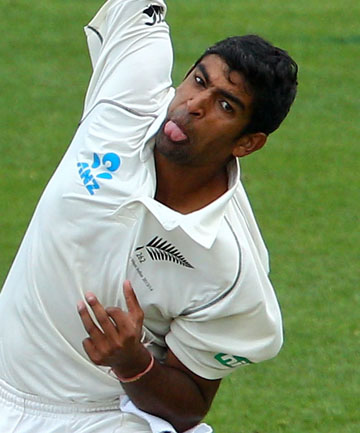 HIGHLIGHT: Young leg spinner Ish Sodhi took five for 35 on day two of the Black Caps match against a Jamaican XI.