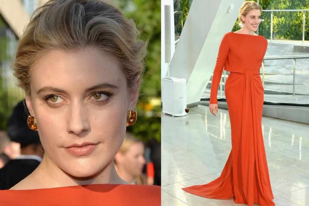 THE BEST: I understand that this isn't going to be the populous choice, but I absolutely adore this terracotta Zac Posen on the gorgeous Greta Gerwig (it really makes her hazels pop). It's just different enough but still timeless. PS: She's channelling a young Catherine Deneuve - and that's obviously a very good thing.