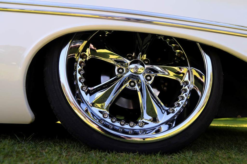 Bryan Rasmussen's 1957 Oldsmobile Super 88 Holiday Coupe.