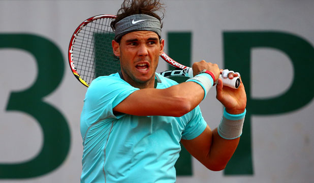 WORLD NO 1: Rafa Nadal continues his run at the top of tennis, beating David Ferrer in the French Open quarterfinals.
