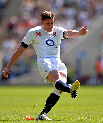 BIG TASK: Inexperienced young player Freddie Burns will start at first five-eighth for England in Saturday's test against the All Blacks in Auckland.