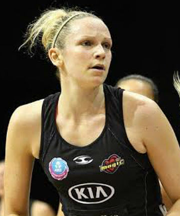 RIGHT CHOICE: Jo Harten in action for the Waikato-Bay of Plenty Magic.