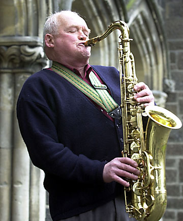 'A LEGEND': Christchurch saxophone player, teacher and composer Stuart Duncan Buchanan.