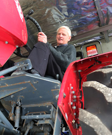 NUTS AND BOLTS: Agricultural Machinery Taranaki's John Hermann is calling it quits.