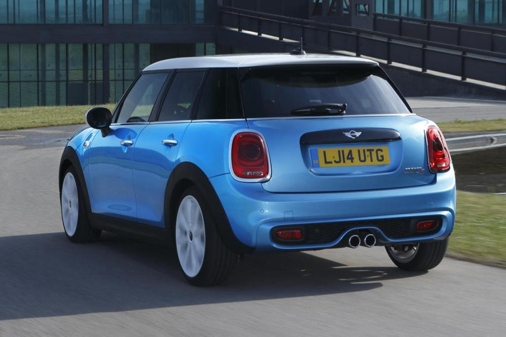 Mini's new 5-door hatch.