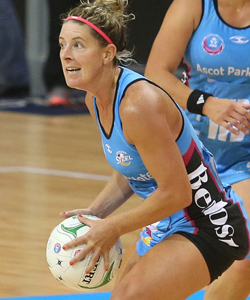 SWITCH IN FOCUS: Midcourter Phillipa Finch has called time on her stint with the Southern Steel.