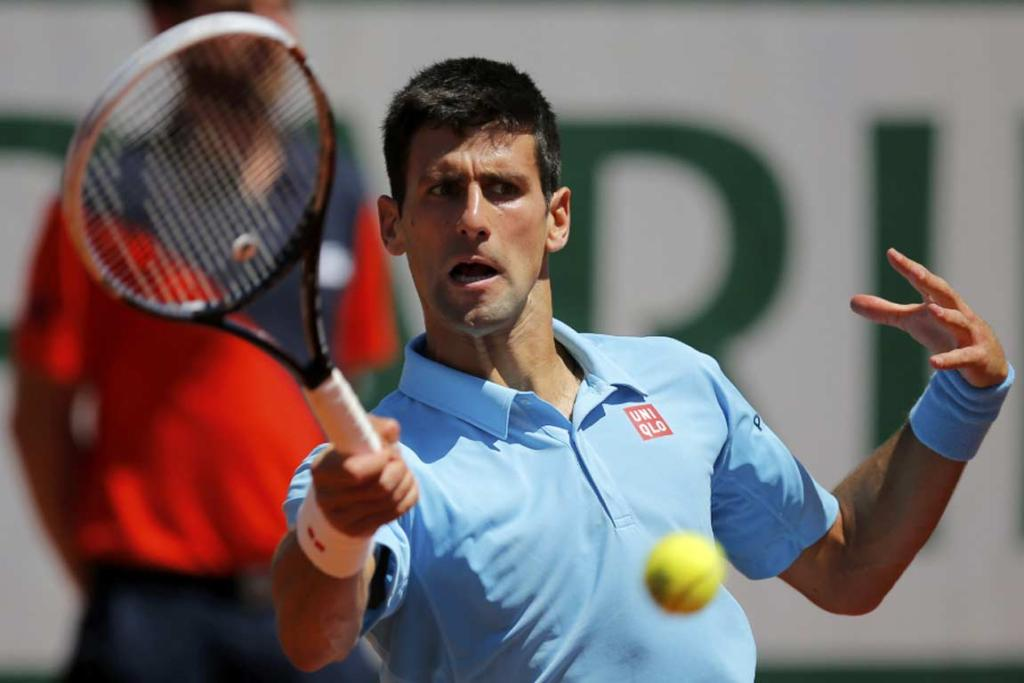 Novak Djokovic overcame losing the third set to finish off Ernsts Gulbis in four sets to reach the French Open final.