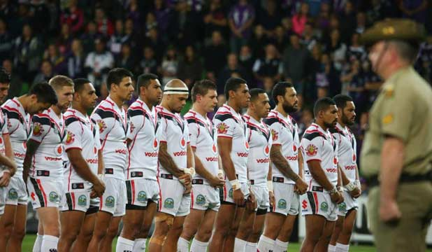 Warriors Anzac