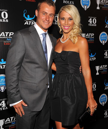 LLEYTON & BEC: The Aussie golden couple are based in the Bahamas and have just one property left in Australia now.