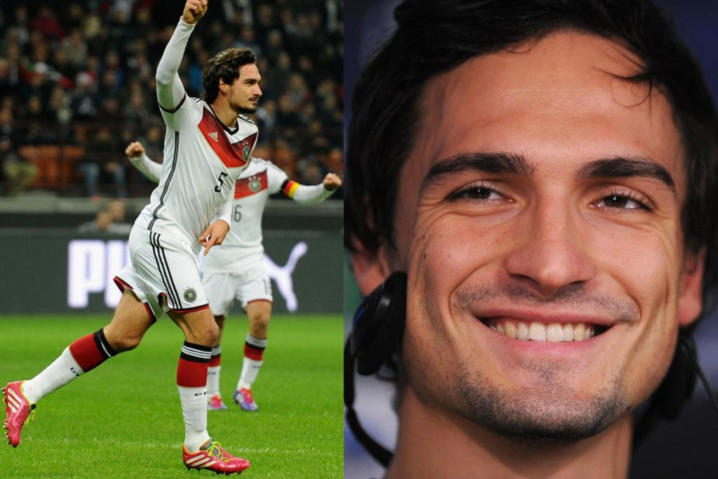 MATS HUMMELS, GERMANY: Part Orlando Bloom, part Roger Federer and all around sexy, this lovely young German is one of the best defenders out there. Big-name premiere league teams may have their eyes on him for his strong tackling talent, but we can't stop staring at his shaggy 'do and soulful eyes.