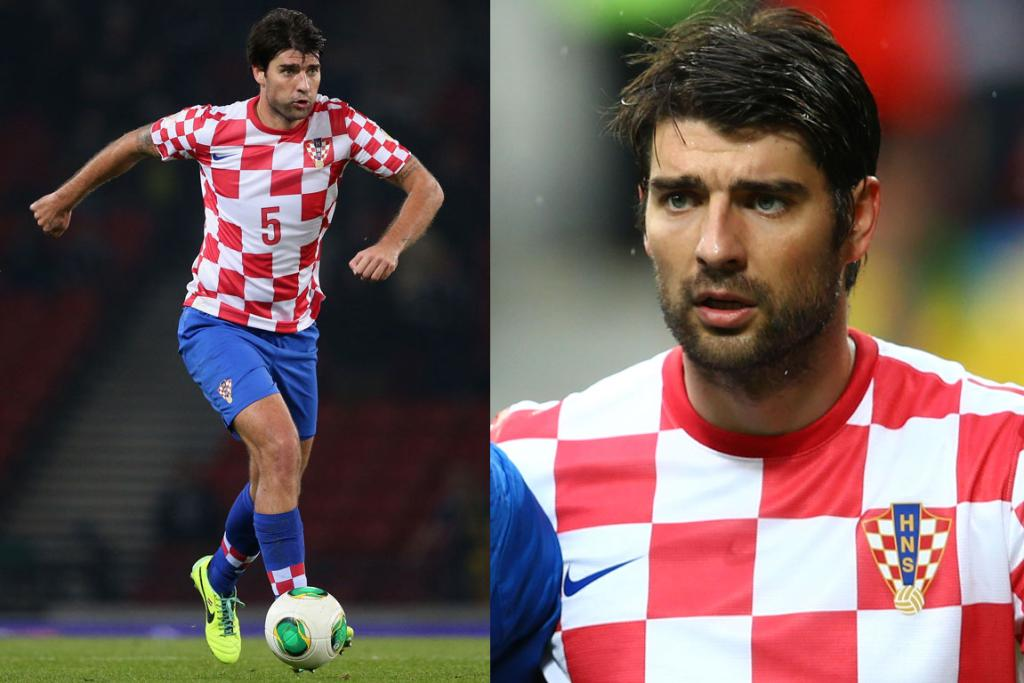 VEDRAN CORLUKA, CROATIA: We're not sure if it's those muscly legs, that scruffy yet undeniably masculine stubble or those gorgeous eyes, but this Adonis has us weak in the knees. Who knew a look of confusion could be quite so attractive?!