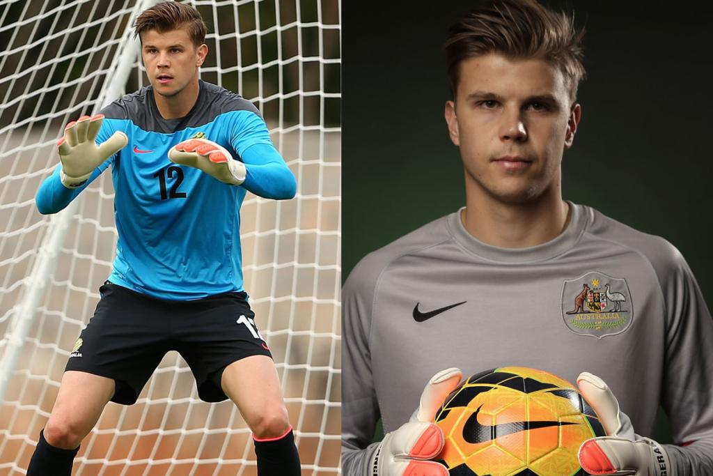 MITCH LANGERAK, AUSTRALIA: He may hail from across the ditch, but trust us - that is the only downside to this 25-year-old baby-faced goalkeeper. Check him out all blue steel during his official World Cup photoshoot on the right - how utterly adorable.