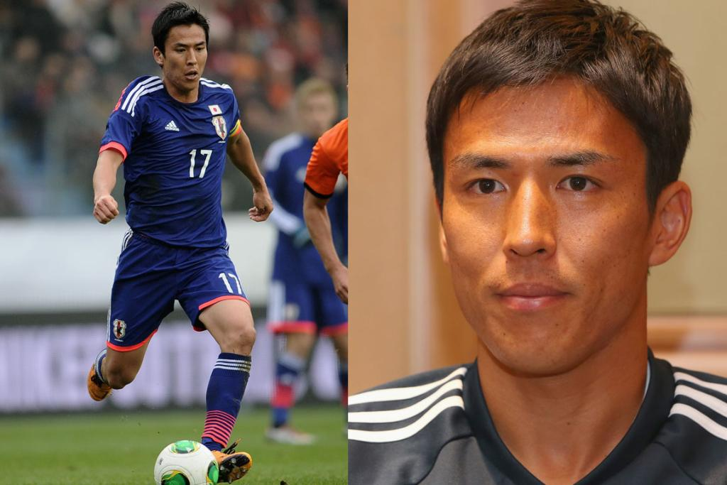 MAKATO HASEBE, JAPAN: While many of these handsome gents lay claim to masses of fans, this 30-year-old is an undisputed crowd favourite. The experienced midfielder was recently snapped up on a free transfer by Eintracht Frankfurt and while he may seem serious, word on the street is that he's something of a cheeky so and so during team trainings. Why is it that cocky athletes always seem immensely more attractive than their modest counterparts?