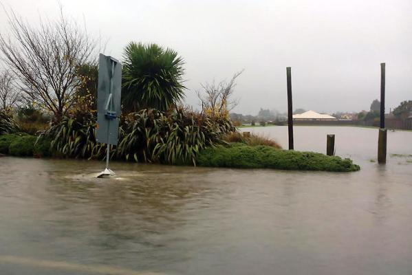 Flooding in Rangiora
