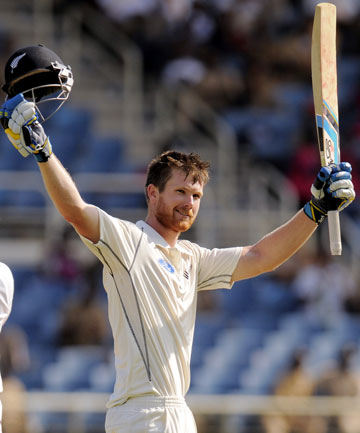 TWICE AS GOOD: Black Caps all-rounder Jimmy Neesham has scored centuries in his first two tests.