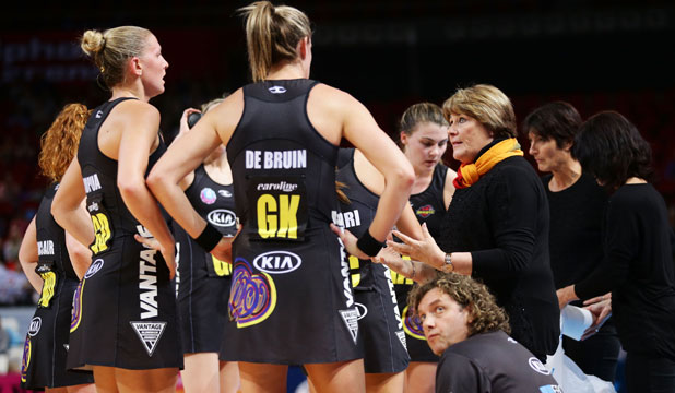 TOUGH TEST: Waikato-Bay of Plenty Magic players are reading up on  the Firebirds.