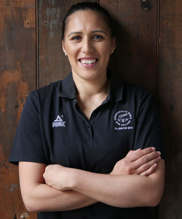 BACK IN SILVER: Silver Ferns midcourter Liana Leota has returned to the team after a three-year absence.