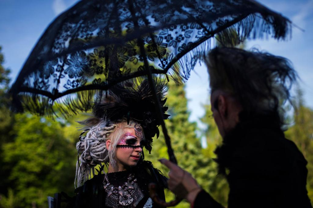 The annual festival is known in Germany as Wave-Gotik Treffen (WGT).