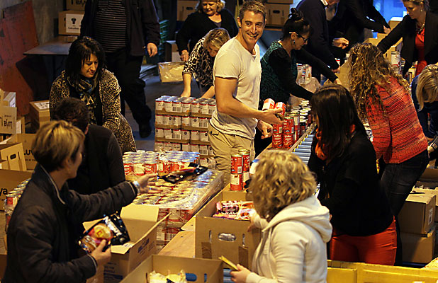 Families for Families food parcels