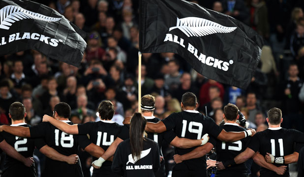 TOO HARSH: The All Blacks got out of jail against England last week but have still been widely criticised.