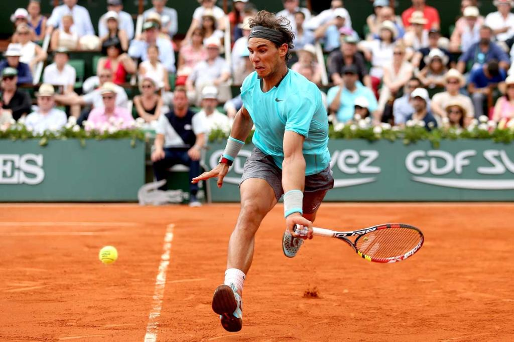 Rafa Nadal has only been beaten once at the French Open in the last 10 years.