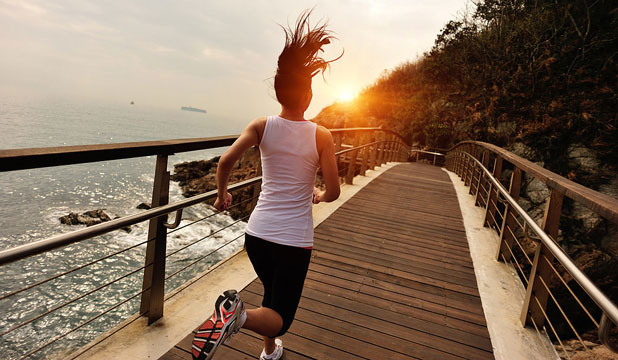 MAKE IT HAPPEN: Feel like you're running your tush off, but getting nowhere? Change it up.