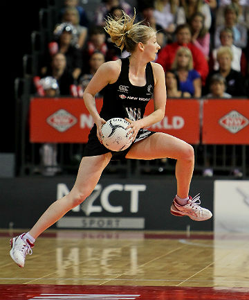 LEFT OUT: Millie Lees did not make the Silver Ferns squad for Glasgow.