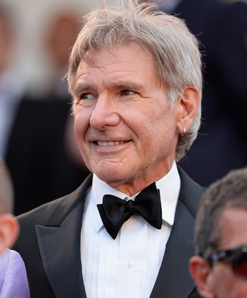 HAN SOLO: Harrison Ford on the red carpet.