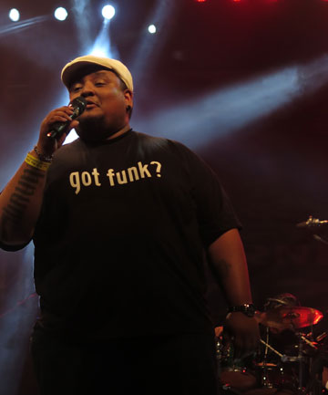 ALL FUNKED UP: Russell Curtis of Malaysian band JunkOFunc.