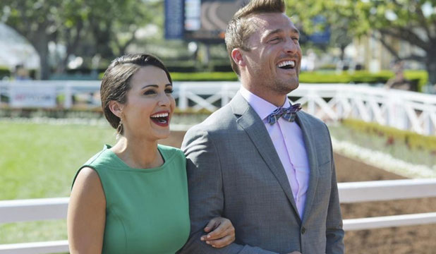 LOVE IS IN THE SOUND: The latest Bachelorette, Andi Dorfman on a date with one of her men.