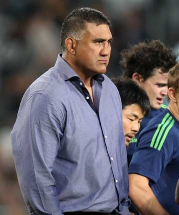 STAYING ON: Highlanders coach Jamie Joseph.