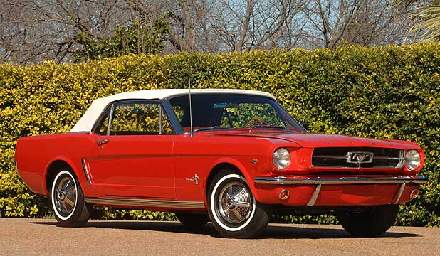 1964 Ford Mustang.