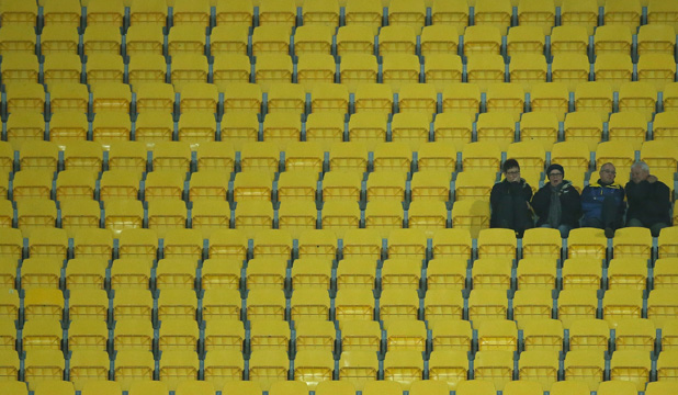 EMPTY: Not all events appeal to sports fans.