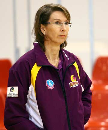 """ROSELEE JENCKE: """"I want to say it's not physical, I want to say it's a contest. I think that's a mistaken philosophy that it's physical. I think it's a contest for the ball, and both teams as are as strong at it."""""""