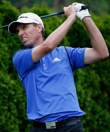 STRUGGLE STREET: Kiwi golfer Steven Alker shot a second straight six-over 76 to miss the cut at the US Open.