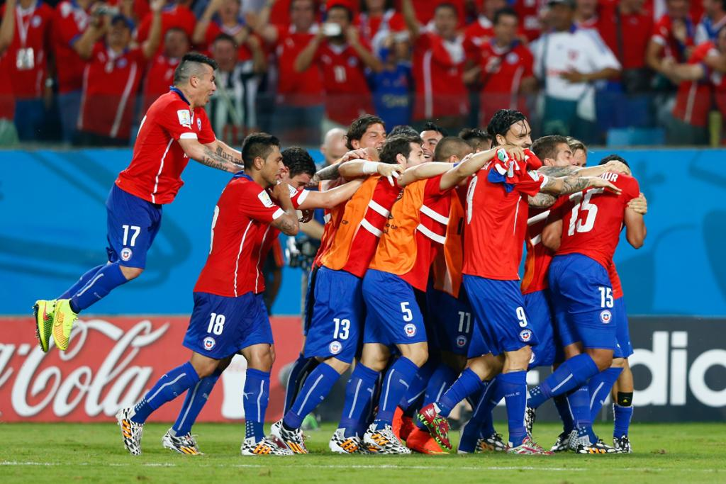 Chile beat the Socceroos 3-1.