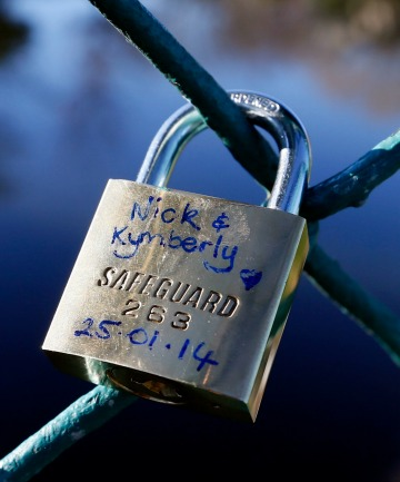 Kymberly Widley's lock