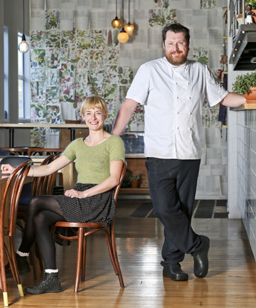 TOP NOSH: Two of Chim Choo Ree's co-owners, Kimberley Higgison and Cameron Farmilo, have helped Hamilton to the city's third regional restaurant award.