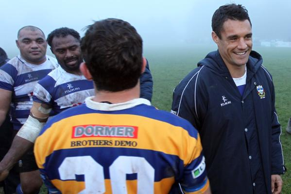 Dan Carter plays for Southbridge