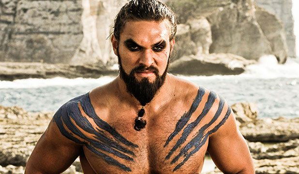 HEADING FOR THE SEA: Jason Momoa is reportedly set to play Aquaman.