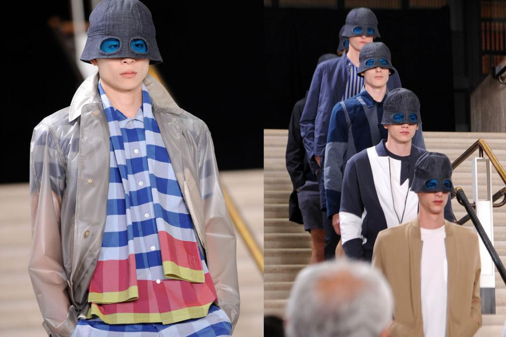 Crazy men's fashion at London Collection