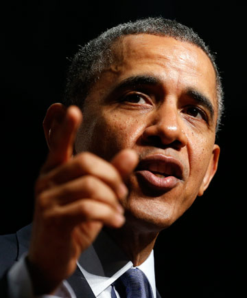 TWITTER FAIL: Apologies were needed after a company dissed US President Barack Obama's grandmother.
