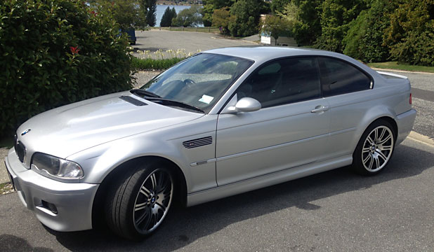 CHANGE OF TRANSPORTATION: Police say alleged fraudster Paul James Bennett and his partner Simone Wright have sold the rare BMW they were travelling in, which resembled the one pictured.
