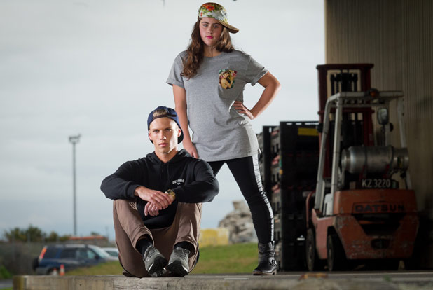 Thanks to our models Izzy Bayley and Arden Andre.